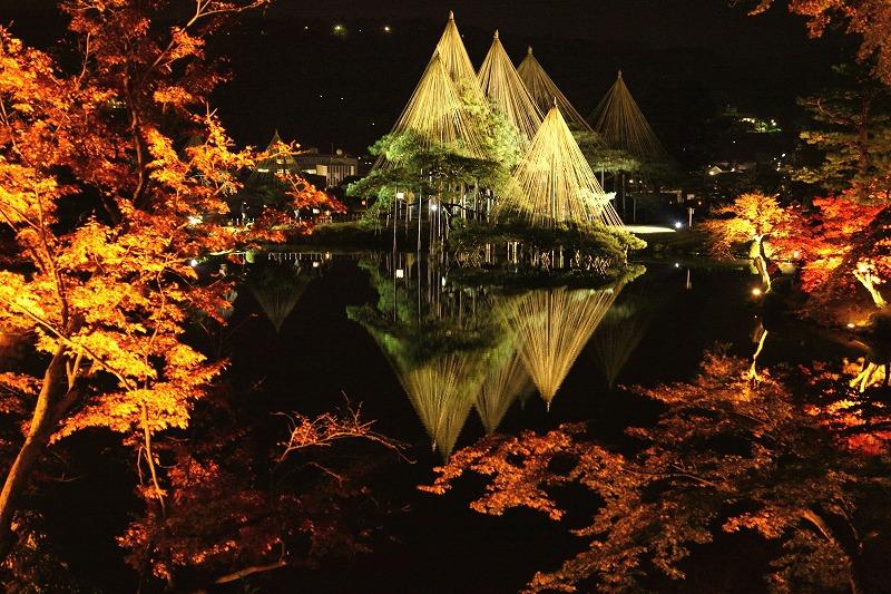 ライトアップ秋の段 /撮影ブログ「金沢から発信のブログ 風景と花様」(掲載許可待ち)