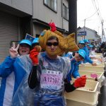 What food will be provided in Kanazawa marathon 2016?
