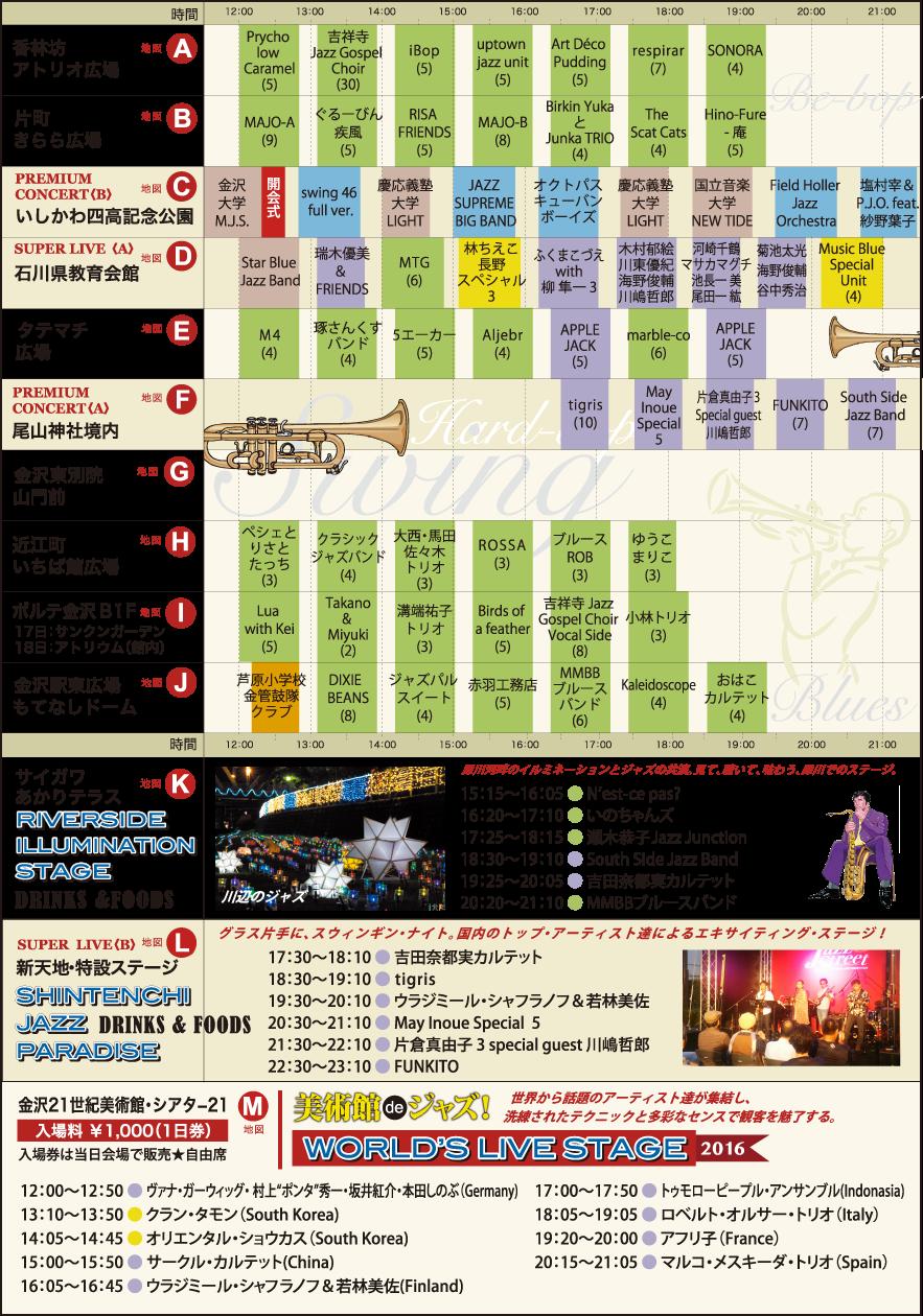 Img via official Kanazawa Jazz street 2016