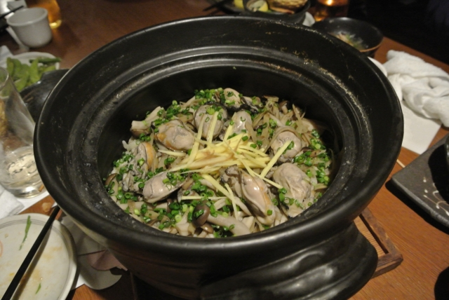 oyster-rice