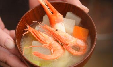 crab MISO-soup