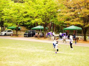奥卯辰山公園のBBQとデイキャンプ場