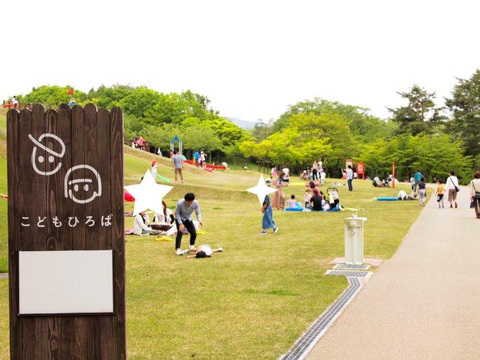 奥卯辰山公園のこどもひろば-