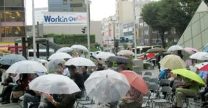 JAZZ in rain @Korinbo Kanazawa