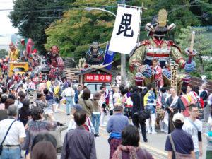 Horai Festival in Hakusan, ISHIKAWA