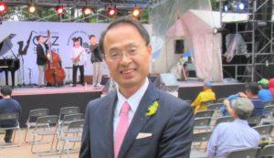 Mr.Yamano/the mayor of Kanazawa