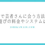金沢で芸者さんに会う方法は?芸妓遊びの料金やシステムは!?