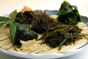 5 kinds of local SEAWEED