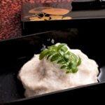 steamed lotas root