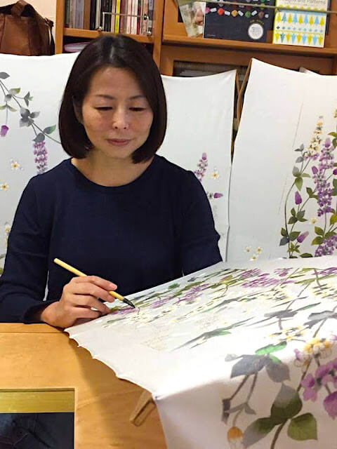 yumiko-sebata-kagayuzen-artist