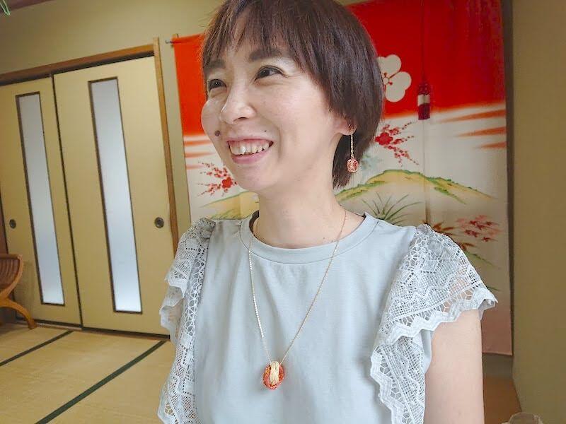 neckless-and earing-yasuka-kanazawakurumi